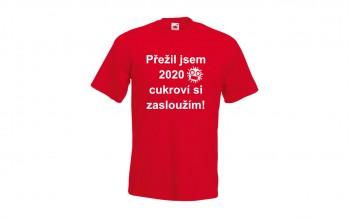 Pánské tričko - zásluhy