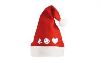 Vánoční čepice s piktogramy...