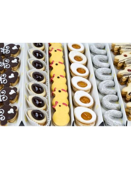 Detail velikonočního cukroví