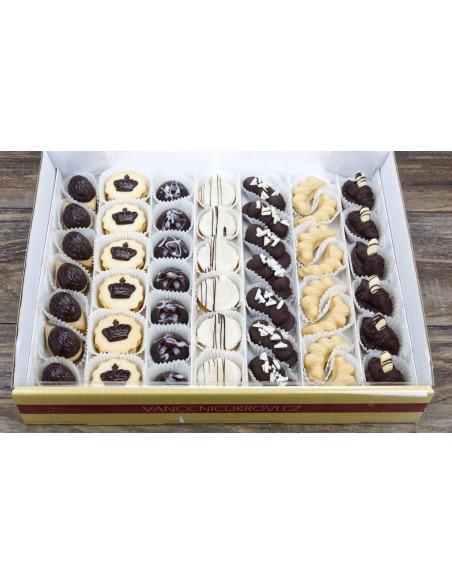 Královská kolekce vánočního cukroví 2021 - krabice