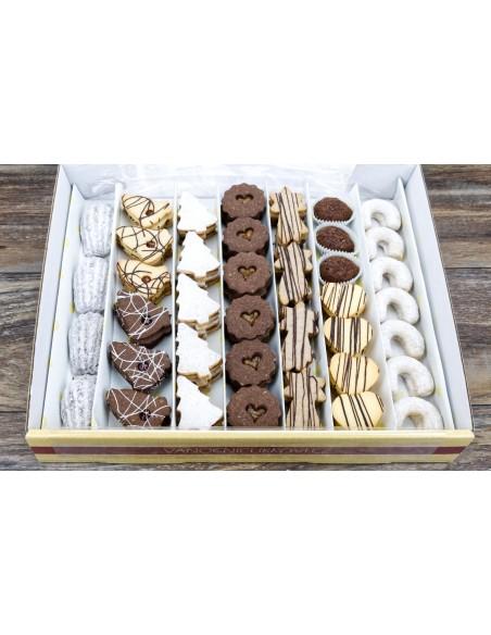 vánoční cukroví 2021 - krabice