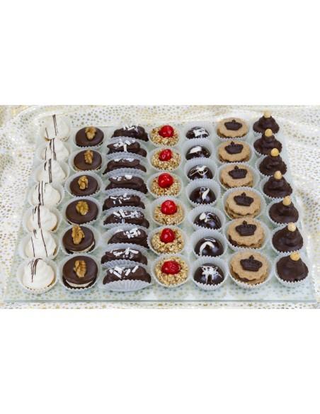 Královská kolekce vánočního cukroví, celkový pohled