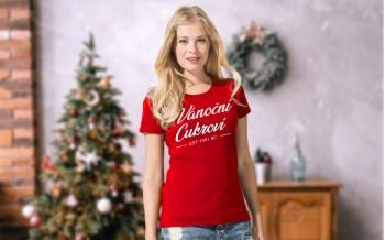 Dámské tričko vánoční cukroví