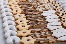 kolekce vánočního cukroví 2015