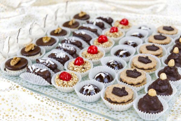 Kolekce vánočního cukroví