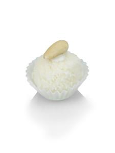 Weihnachtsdessert - Kokoskugel